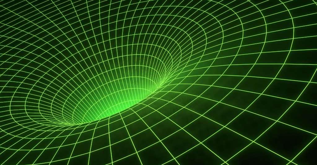 Avec la relativité restreinte puis la relativité générale, Einstein a révolutionné notre conception de l'espace et du temps. © Johnson Martin, DP