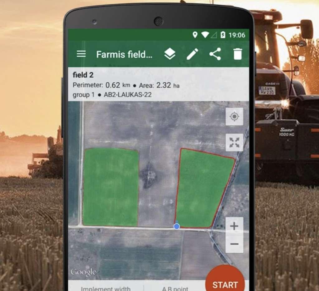 L'application Navigateur des agriculteurs. © Navigateur des agriculteurs