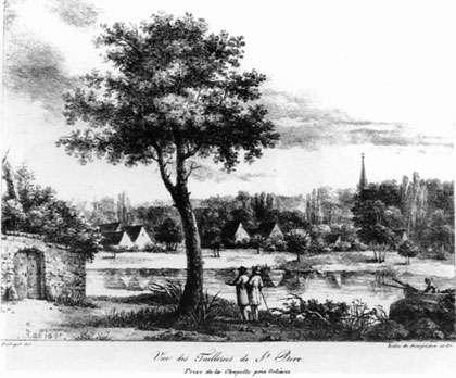 Vue de l'ancienne Tuilerie de St Pryvé-St Mesmin