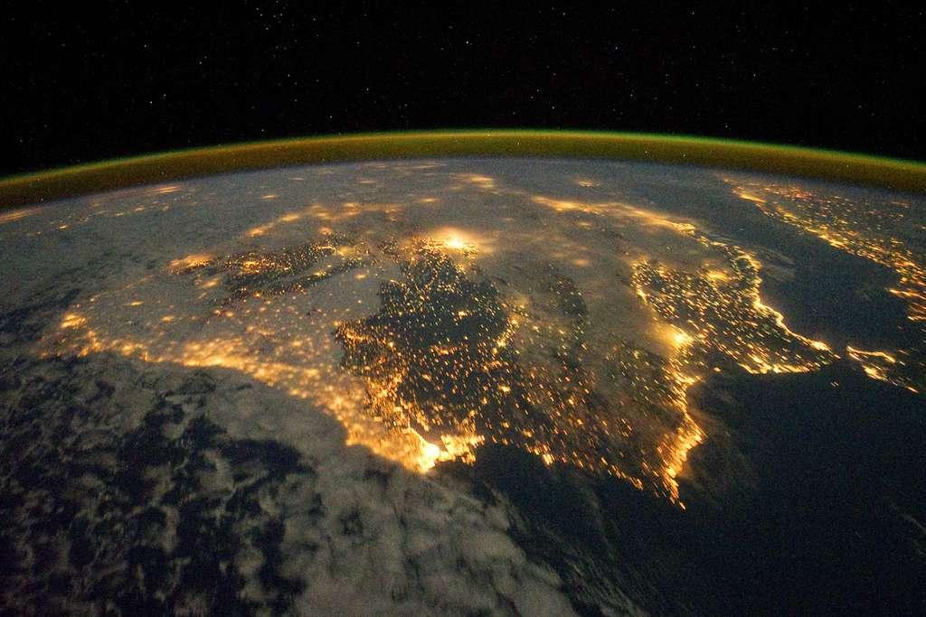 Les lumières ibériques vues depuis l'espace