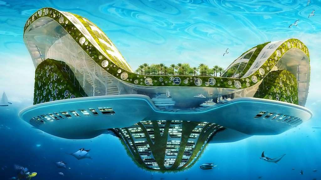 Lilypad : une cité propre et autonome