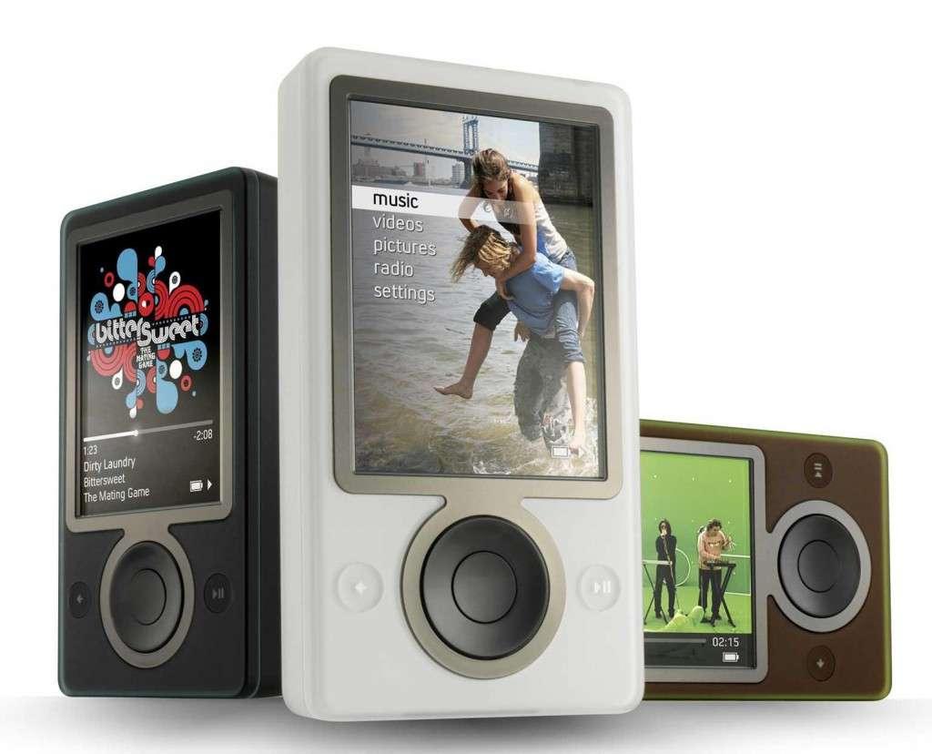 Le Zune HD serait le dernier baladeur multimédia Zune fabriqué par Microsoft selon l'agence Bloomberg. © Microsoft