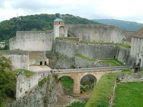 Citadelle de Besançon, la tour du Roi. © Gipe25, Creative Commons Attribution 2.0 Generic license
