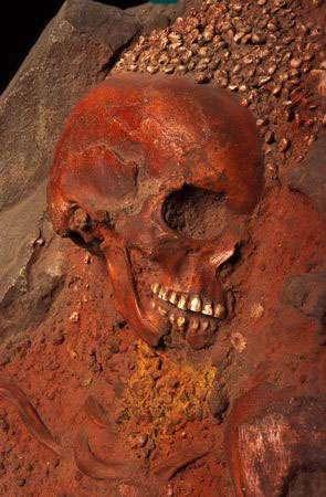 Sépulture du Prince de la grotte des Arene Candide, en ltalie