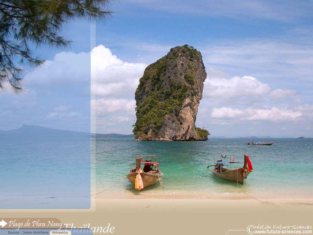 Plage de Phra Nang Thaïlande
