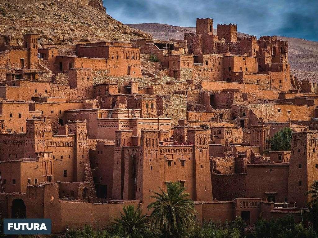 Maroc du sud, architecture typique du désert