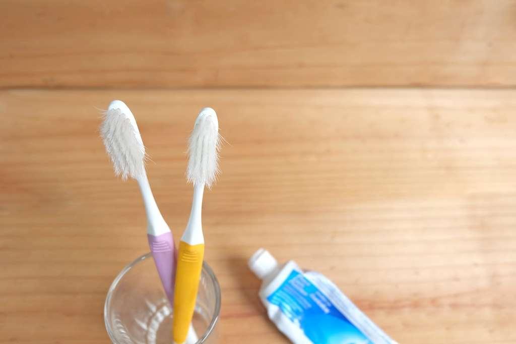 La brosse à dents doit être changée au maximum tous les trois mois, pour un brossage efficace. © damrong, Fotolia