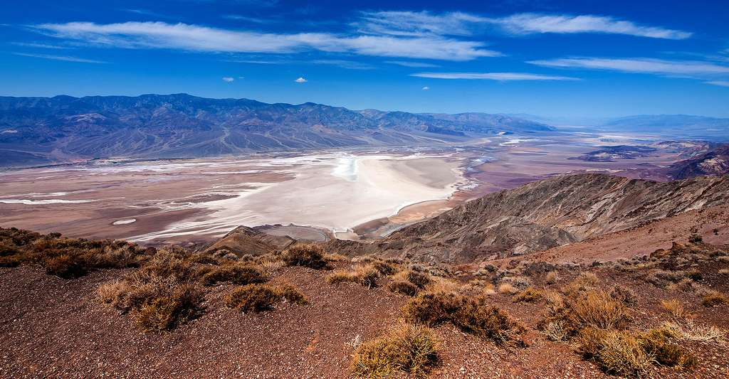 Point de vue Dante, Death Valley, California © William Warby, CC BY 2.0
