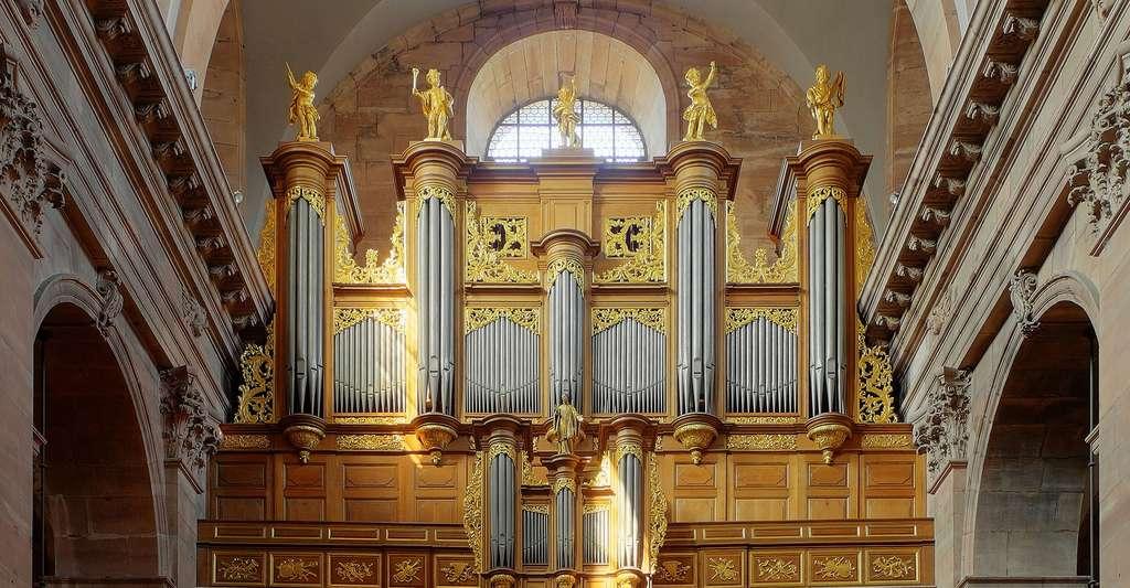 Les grandes orgues de la Cathédrale Saint-Christophe de Belfort. © Thomas Bresson, Wikimedia commons, CC by 3.0