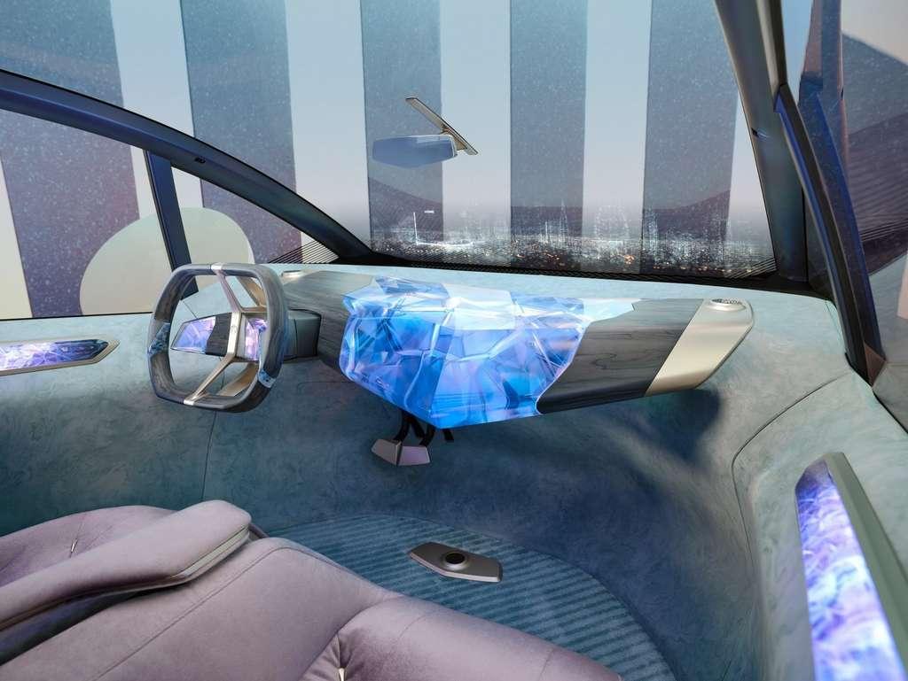 L'intérieure de la BMW i Vision Circular. © BMW