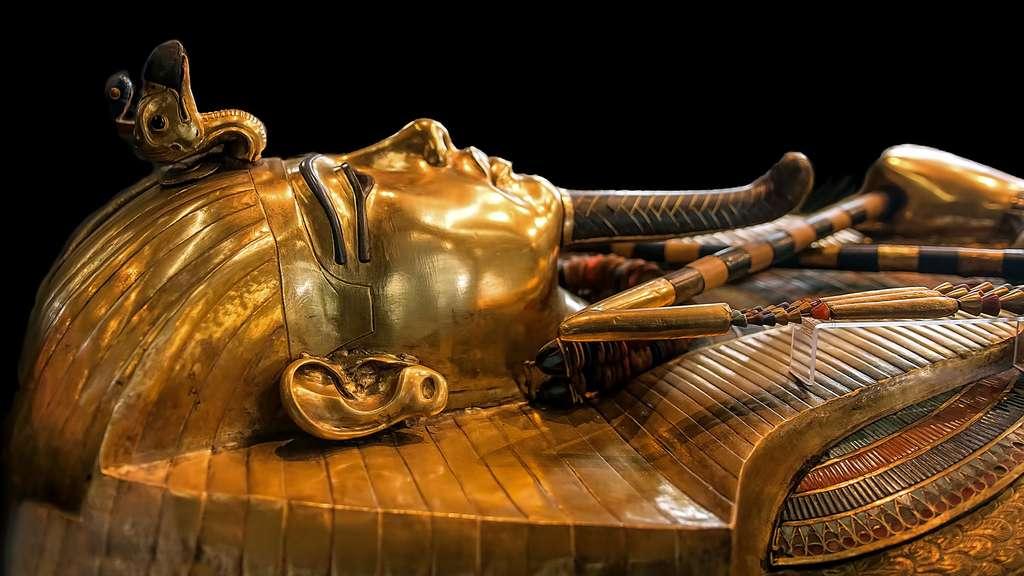 Les sarcophages, ultimes demeures de Toutânkhamon