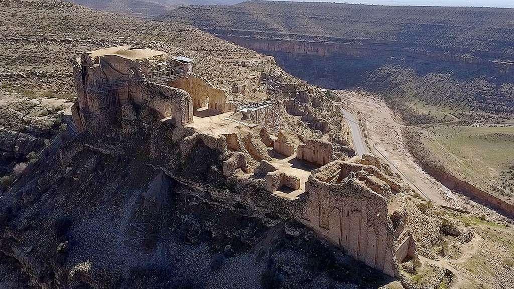 Iran : le paysage archéologique sassanide de la région du Fars