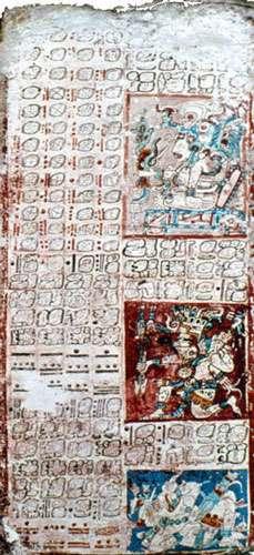 Table de Vénus dans le codex de Dresde.