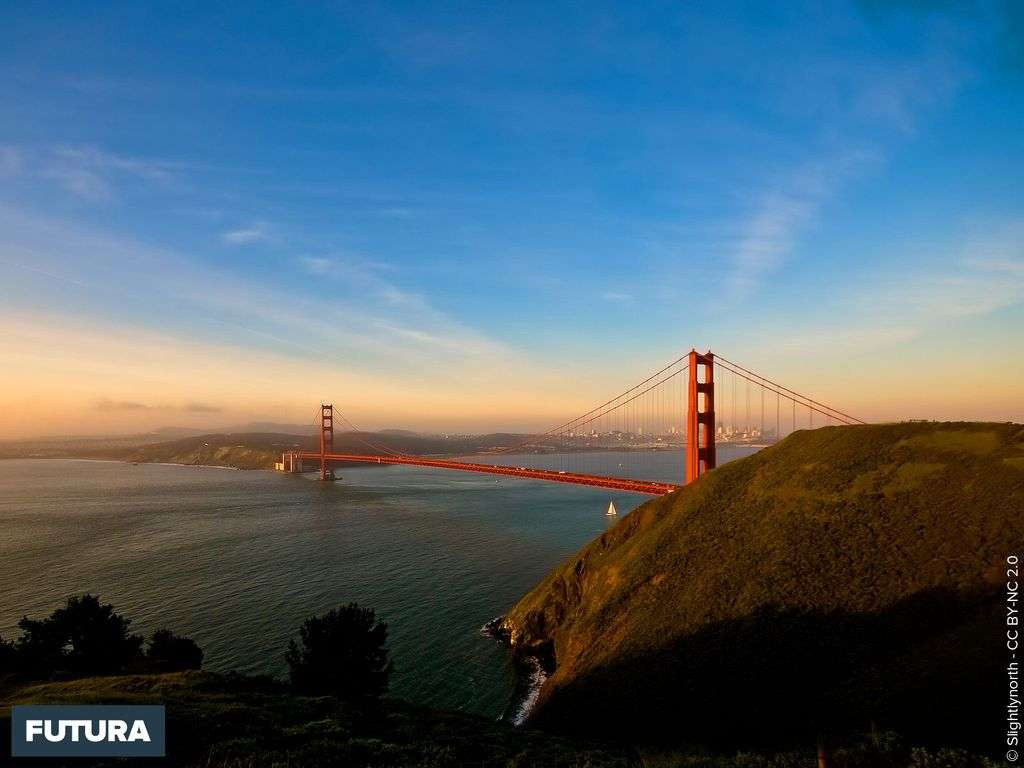 The Golden Gate Bridge USA