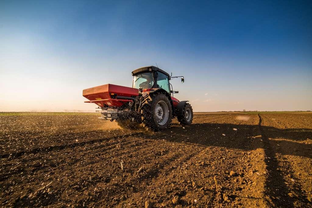 L'engrais déversé sur des cultures déjà saturées en azote finit inévitablement dans l'atmosphère. © oticki, Adobe Stock