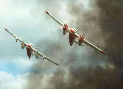 L'arrivée des trackers sur le lieu d'un feu. © Tracker-France - Tous droits de reproduction interdits