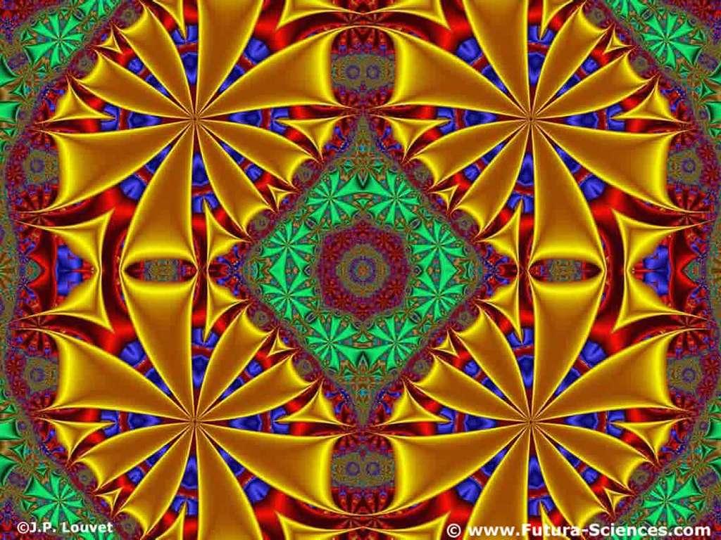 Kaléïdoscope fractale