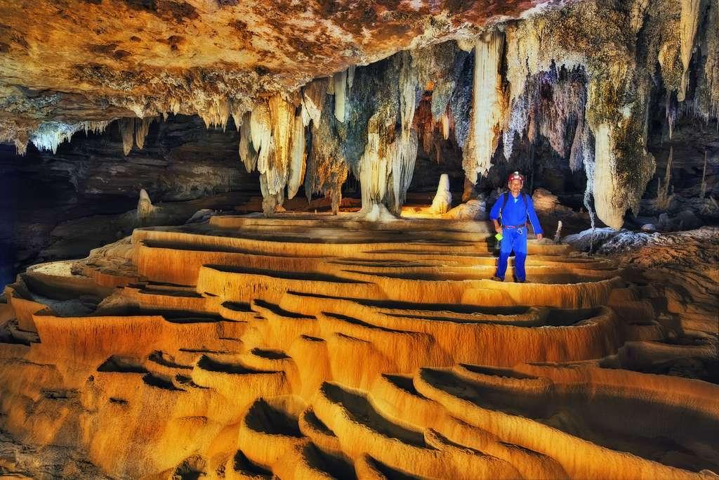 La grotte Palmeira et ses barrages naturels
