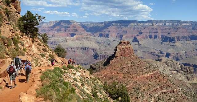 La personne décédée avait fait une randonnée de 10 km dans le parc national du Grand Canyon. © Grand Canyon National Park, Flickr, CC by 2.0