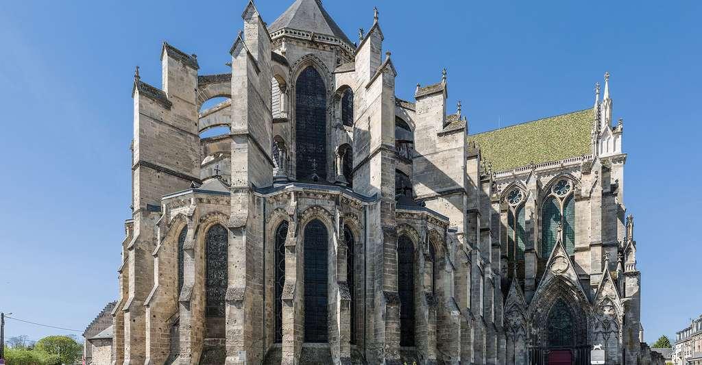 Soissons : la cathédrale Saint-Gervais-et-Saint-Protais. © Diliff, Wikimedia commons, CC by-sa 3.0