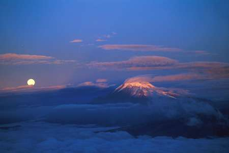 Equateur : Volcan Chimborazo
