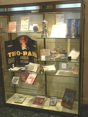 La Petite boutique du radium au musée Curie à Paris