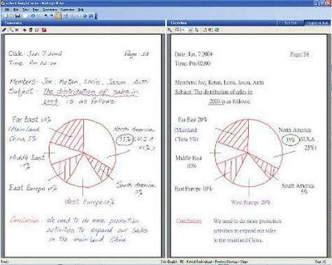Exemple de traitement de document digitalisé. Crédit Axantis