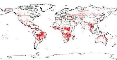 Un Monde En Feu La Nasa Dévoile Une Carte Mondiale Des