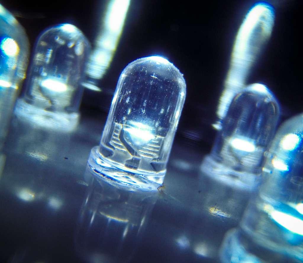 Les Led blanches s'invitent progressivement dans les applications d'éclairage, car leur spectre d'émission peut être proche de celui des lampes à incandescence par exemple. © Mike Deal, Flickr, cc by nc nd 2.0