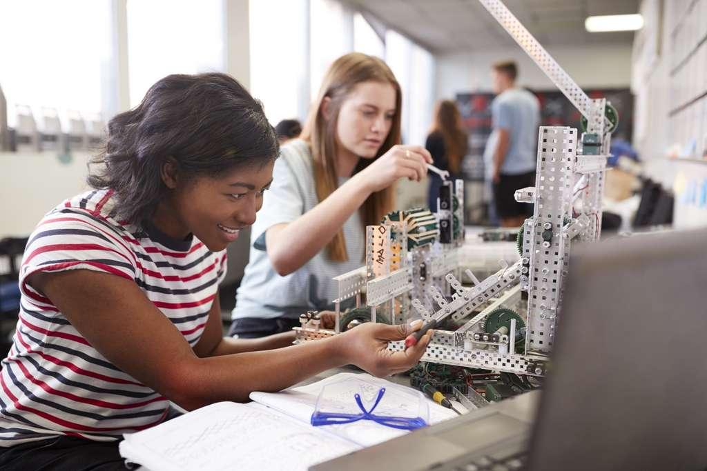 En 2016, sur quelque 870.000 ingénieurs, les femmes ne sont que 194.000, soit 22 %. © Monkey Business, Adobe Stock