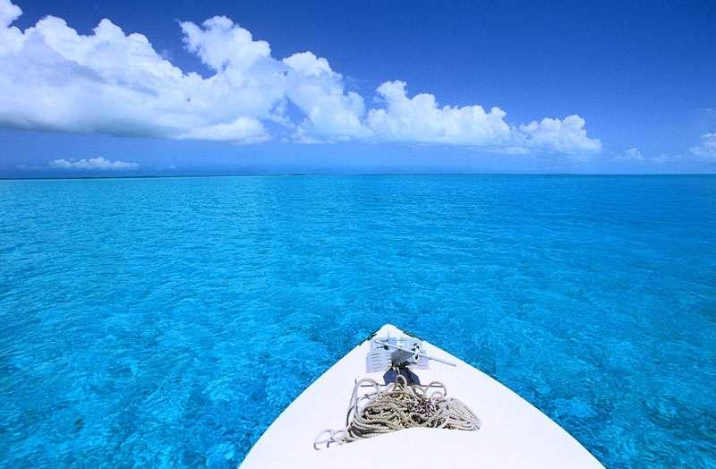 Bateau de tourisme aux Bahamas. © Alexis Rosenfeld, reproduction interdite