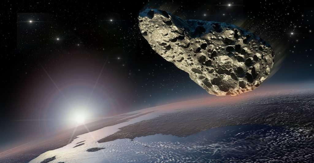 Le choix d'un site d'atterrissage sur un astéroïde se fait d'abord en fonction de la rugosité. © 300ad, Fotolia