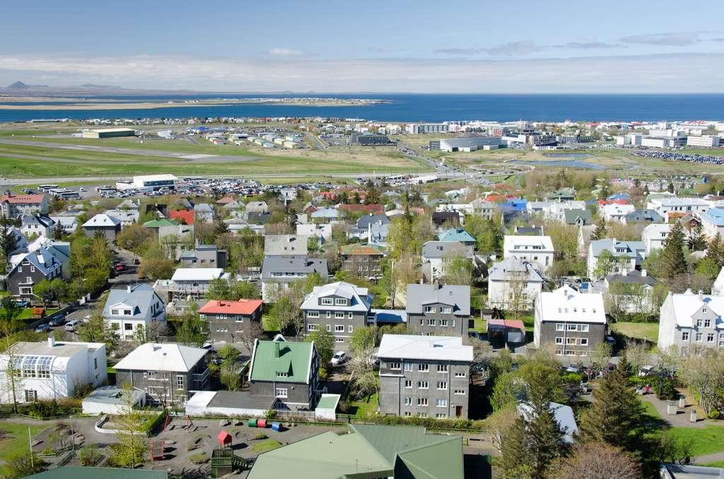 Reykjavik, en Islande, est la ville qui offre le plus d'espaces verts par habitant. © Wendy, Flickr