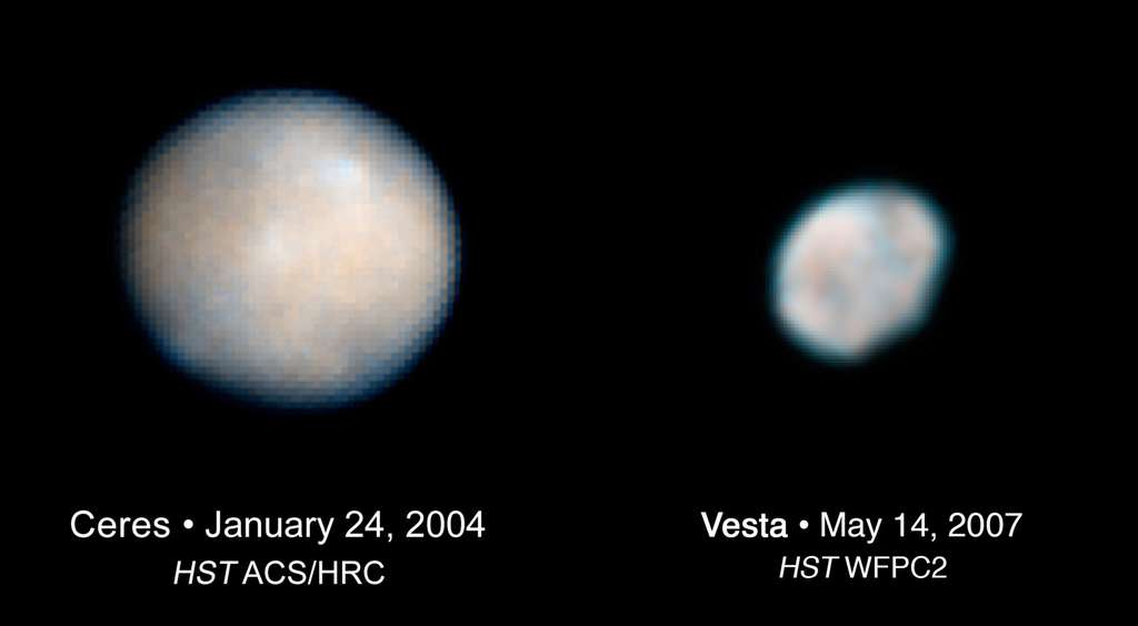La mission Dawn aurait pu ne jamais voir le jour sans la ténacité des scientifiques qui l'ont portée à bout de bras. Entre report (tir initial en juin 2006), suspension (octobre 2005) et annulation (janvier 2007), les équipes de Dawn on su garder la tête froide. Et trouver les mots justes pour convaincre la Nasa de rétablir la mission au prix d'une modification du profil de la mission, notamment de son plan de vol qui se traduit par une réduction de quatre mois du temps passé en orbite autour des deux astéroïdes (de onze à sept mois). © Nasa/Esa