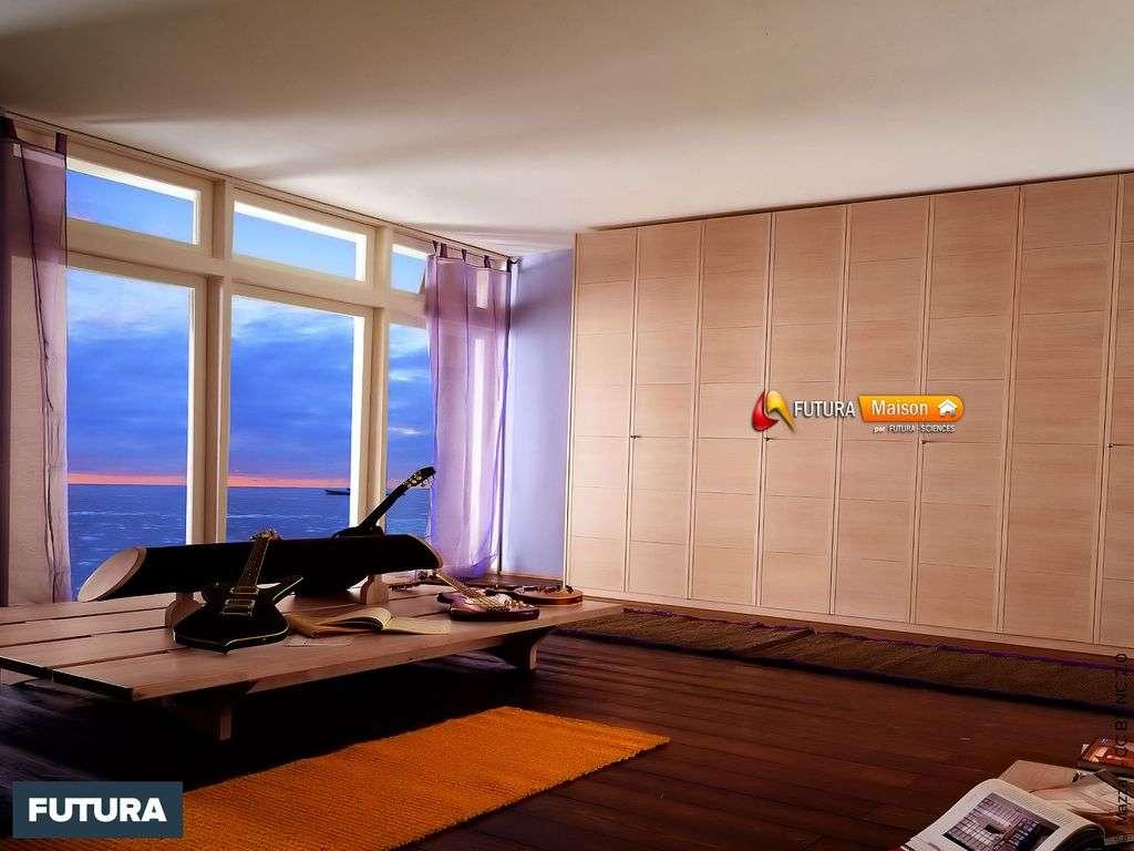 Chambre vue sur l'océan