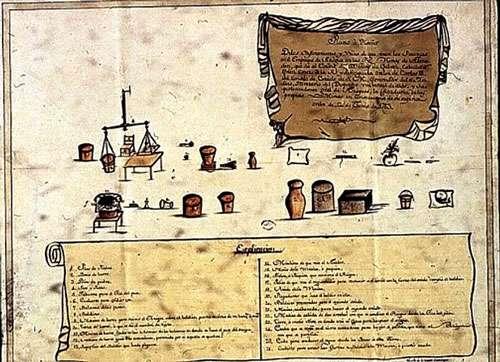 Le Mercure à Huancavelica, durant la période coloniale. © DR