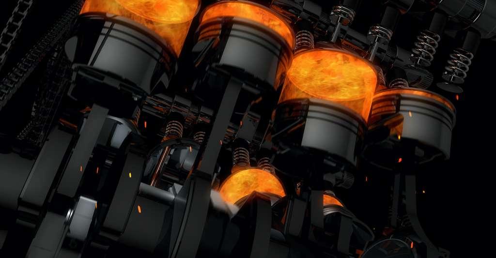Les ondes de combustion thermonucléaires qui se produisent dans les supernovae de type 1a et les ondes de combustion chimiques qui se produisent sur Terre sont contrôlées par les mêmes mécanismes physiques. Contrôler ce mécanisme pourrait aussi permettre d'accéder à des combustions plus propres à partir des mêmes carburants qu'aujourd'hui. © Yucel Yilmaz, Adobe Stock