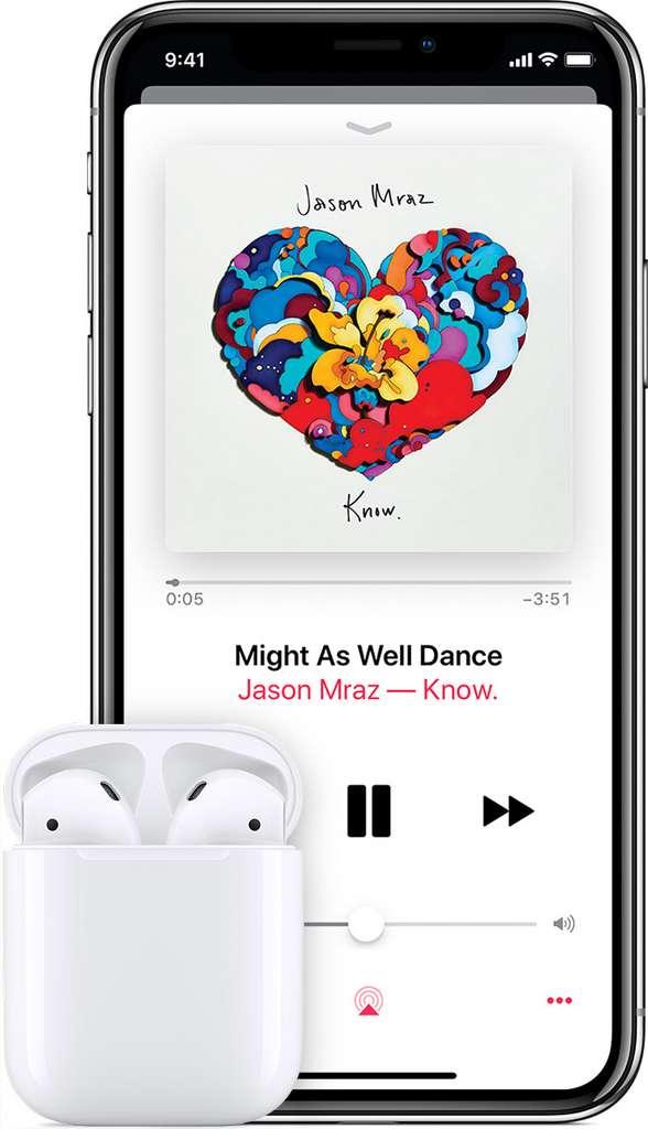 Apple Music se base sur vos achats dans l'iTunes Store pour personnaliser vos recommandations. © Apple