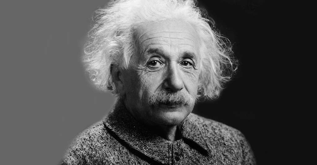 Portrait d'Albert Einstein. © The Library of Congress, DP