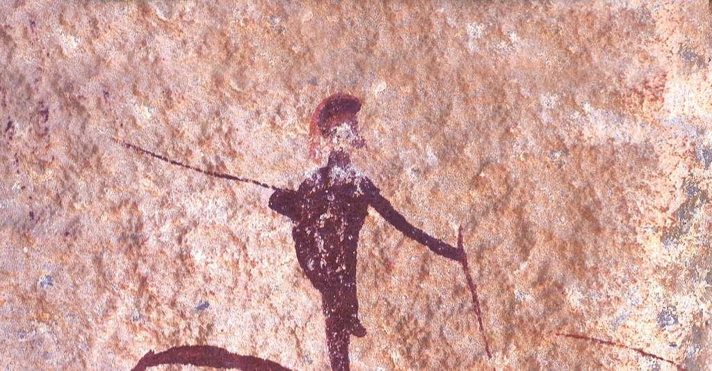 Peinture rupestre. © DcoetzeeBot, Wikimedia commons, DP