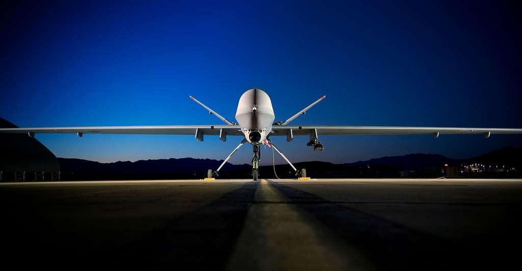 Drone militaire. © Lance Cheung, USAF, domaine public