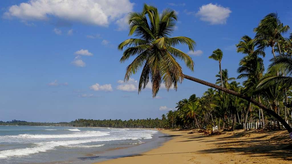 La plage de Cosson, proche de Las Terrenas