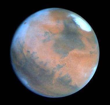 L'eau a-t-elle joué un rôle dans la coloration rouge de Mars ? Contre toute attente, la réponse est non (Crédits :ESA)