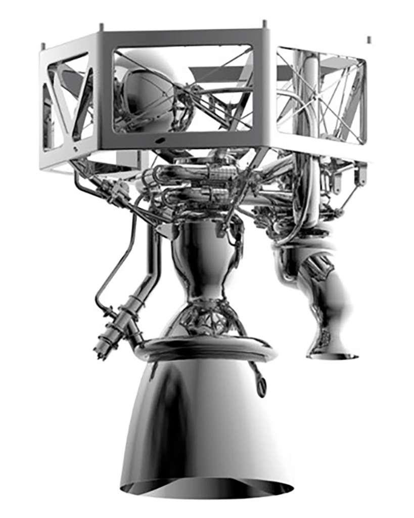 Prometheus, le futur moteur réutilisable et « low cost » qui succèdera à la famille des lanceurs Ariane 6. © ArianeGroup