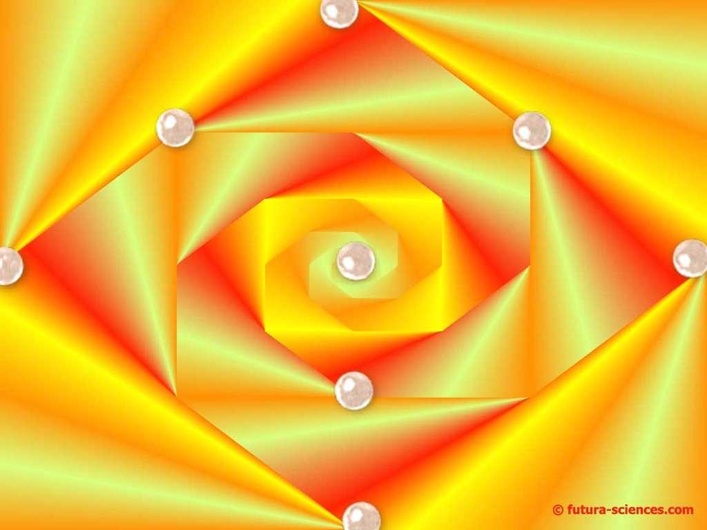 Rose abstraite