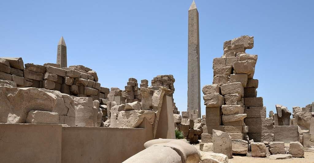Ruines du complexe religieux de Karnak. © Hamerani, CC by-sa 4.0
