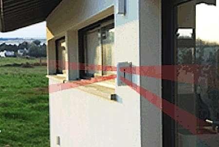 La domotique sert à protéger la maison et ses habitants. © ADT France