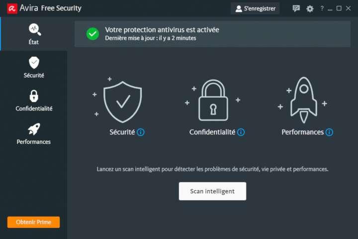 Avira Free Security est une suite de sécurité polyvalente et performante © Avira Operations