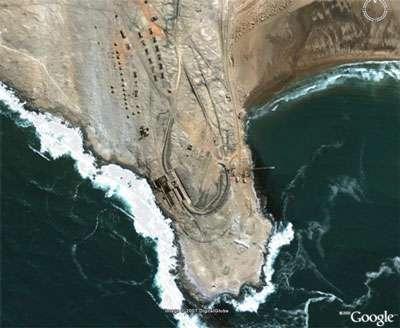 Elizabeth Bay Namibia, ville fantôme des débuts de la prospection. © DR