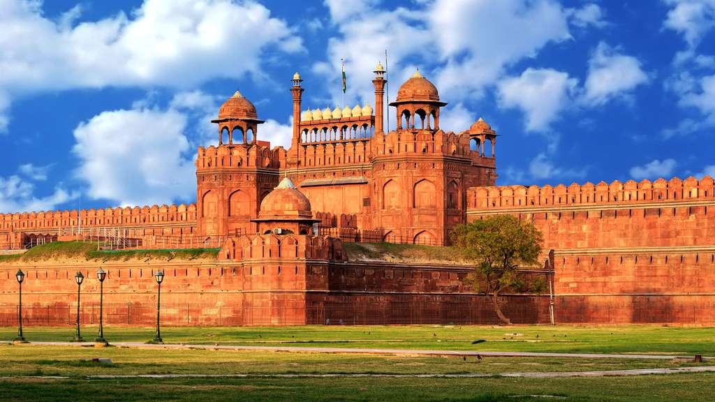 Le Fort rouge, symbole de l'indépendance de l'Inde